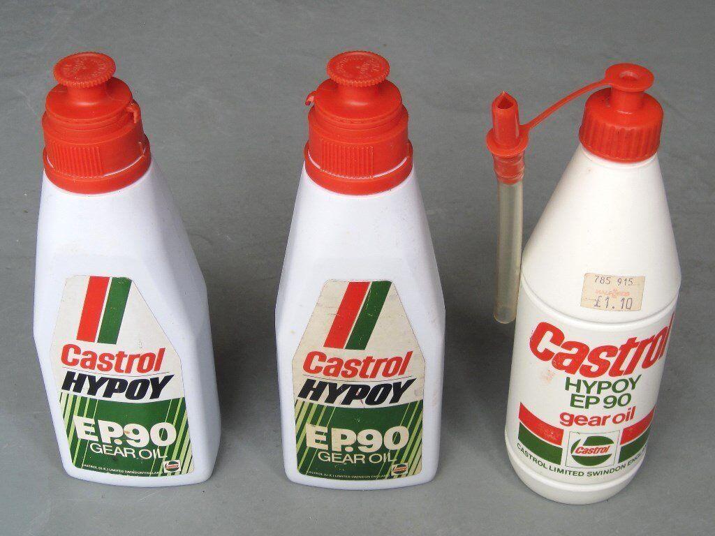 Castrol Hypoy Ep 90 Gear Oil 3x 500ml Unopened In
