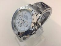 Rolex Oyster Daytona Automatic watch with white dial