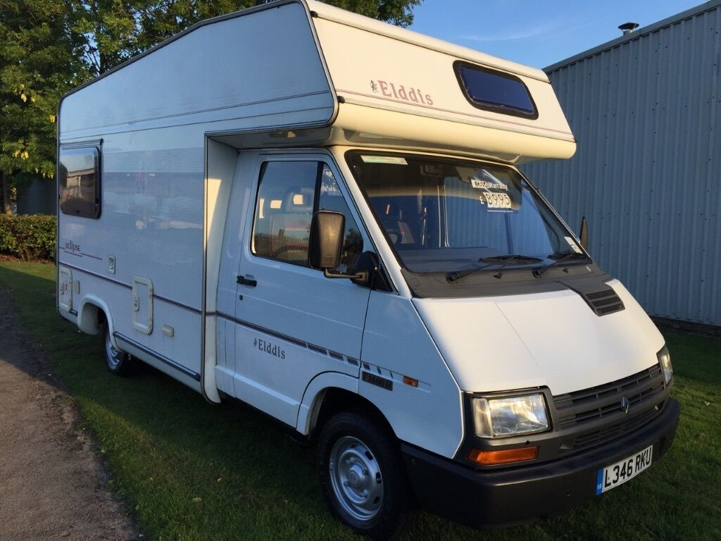 1994 elddis eclipse motorhome 4 berth 2 5 diesel renault. Black Bedroom Furniture Sets. Home Design Ideas