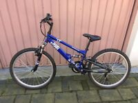 Apollo sand storm blue bike