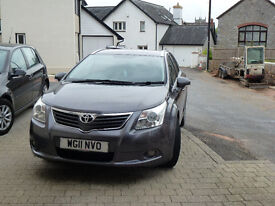 Toyota Avensis 19TDR-4D, Grey, Excellent condition, 78,000, MOT UNTIL FEB 2018