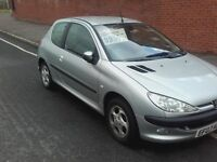 peugeot 206 1.4 glx 03 reg stamped service history fantastic condition