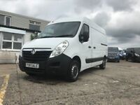 *** 2014 WHITE VAUXHALL MOVANO 2.2 CDTI L2 H2 ONLY 58000 MILES FOR NEW