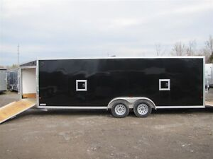 2017 Mission Trailers 7' x 27' ALL ALUMINUM SLED TRAILER