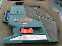 BOSCH GLL 2-80 P Self Levelling Cross Line Laser Level