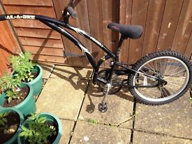 Adams Trail-a-bike - single speed, suitable for 4 -6 year old