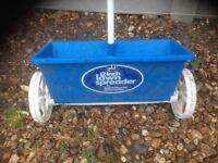 lawn spreader 12 inch on wheels