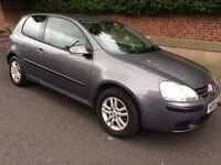 2006 VW GOLF 1.4s 3 DOOR HATCH MAIN DEALER SERVICE HISTORY LONG MOT hpi CLEAR ICE COLD AIR CON £1350