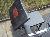 Pro Power Arm Curl Bench