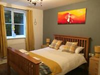 Two Bed Flat Short Term Let in Crawley/Manor Royal. Your Home Away. Free WiFi and parking