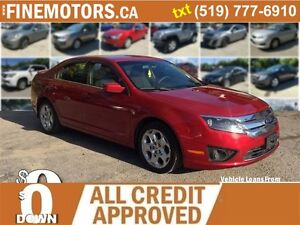 2011 FORD FUSION SE * LOW KM * POWER OPTIONS * LOANS FOR ALL