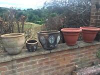 Garden potts