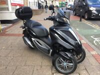 PIAGGIO MP3 yourban not vespa 2011 Black STUNNING only 13k miles hpi clear!!!