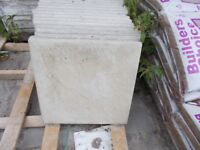 Paving Slabs (Rivven) 45x45 in Grey or Buff