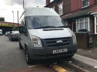 Ford transit 2007 silver panel van manual Diesel