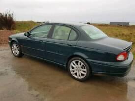 Jaguar X type V6 petrol FSH TO PRESENT