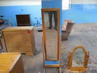 Tall Free Standing Bedroom Mirror