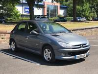 SALE!! 2006 PEUGEOT 206 * 5 DOOR * PETROL * 1.4 * MOT * IDEAL FIRST CAR * P/X * DELIVERY AVAILABLE