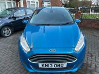 2013 Ford Fiesta 1.0 Titanium Ecoboost Turbo 59k Long MOT Zero Tax