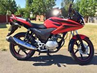 Stunning Red Honda CBF 125 CBF125 125cc. CBT Learner legal. *We Deliver!*