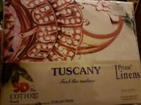 Tuscany bedding - 4 piece set