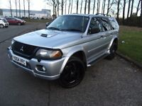DIESEL !!! 2004 04 MITSUBISHI SHOGUN SPORT 2.5 EQUIPPE TD 5d 114 BHP *** GUARANTEED FINANCE ***