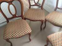 Stunning Dining Chairs x4