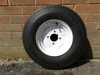 Spare wheel for trailer