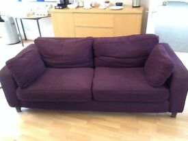 Two Large HABITAT SOFAS in good condition