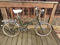 Raleigh stowaway folding bicycle