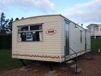 2004 Cosalt Riviera Siesta static caravan for sale at Chesterfield Country Park in Berwickshire