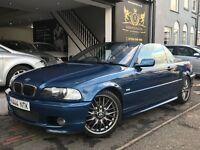 BMW 3 Series 2.5 325Ci Sport 2dr M SPORT UPGRADES - FULL SERVICE - 12 MONTHS MOT
