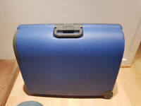 2 Carlton Hard Back Suitcases - Blue