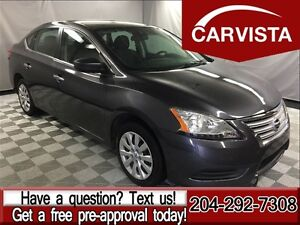 2015 Nissan Sentra 1.8 S -BLUETOOTH/FACTORY WARRANTY-