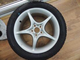 "Brand New - TOYOTA CELICA ALLOY 16"" with Yokohama 205/50/16 tyre - never been used"