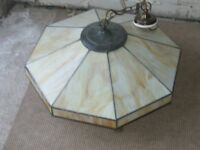 Art Deco Ceiling Light Shade. Original. Ex. condition.