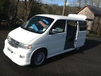 HI SPEC NEW SHAPE MAZDA BONGO/FREDA DAY MPV VAN/ CAMPER /LOW LEVEL COOLAN/BRAND NEW MOT&CAMBELT KIT