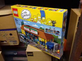 Lego set The Simpsons Kwik-E-Mart 71016 new and sealed