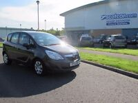VAUXHALL MERIVA 1.4 EXCLUSIV FSH FINANCE AVAILABLE