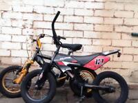 Mini motorbike and yellow stinger apollo bike 2 for 50 sale
