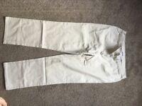 Ladies Damart beige jeans size 18 - brand new