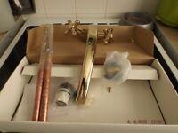brass mixer tap for kitchen sink