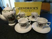 HENDRICK BRITISH TEA SET.