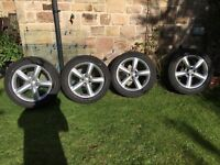 "Audi Q5 - S-Line 19"" Alloy Wheels & Bridgestone Tyres 7-8mm tread"