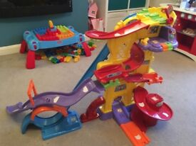 Vtech Toot Toot Race Track