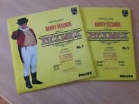 'Pickwick' 1963 stage show Ep records.