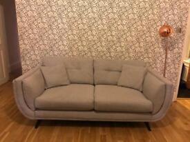 Light Grey Sofa Set