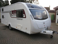 Swift Lifestyle 6TD 6 berth caravan - 2015 - immaculate condition throughout