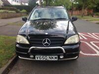 Mercedes-Benz M Class ML430 5dr tax'd & mot'd bargain price £875