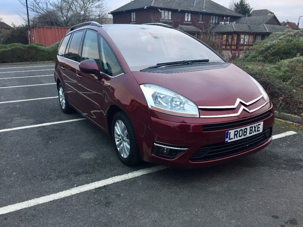 Citroen Grand C4 Picasso 2.0 HDi 16v Exclusive EGS 5dr Leather ...